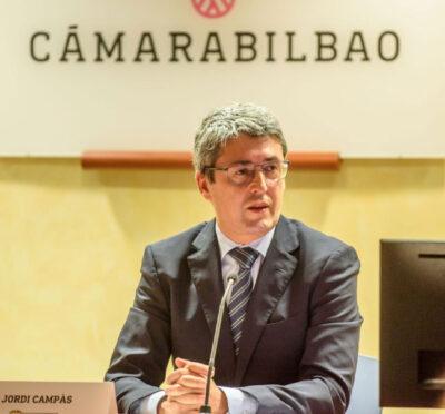 Jordi Campás, durante su intervención en la jornada.