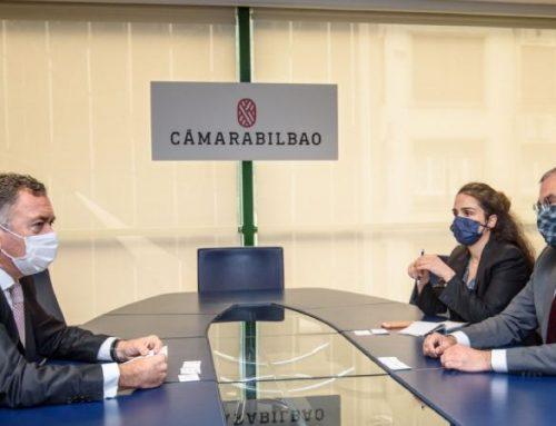 El embajador de Turquía y el presidente de Cámarabilbao intercambian impresiones sobre las relaciones comerciales