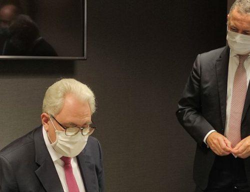 El embajador de Paraguay y el presidente de Cámarabilbao ahondan en las relaciones comerciales bilaterales