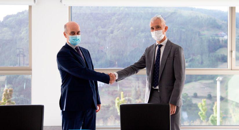 Firma del acuerdo de colaboración de Tekniker y Gaiker