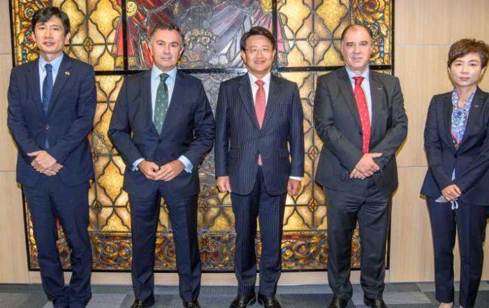 Jornada en Cámarabilbao para estrechar los lazos comerciales entre Corea, Bizkaia y Euskadi